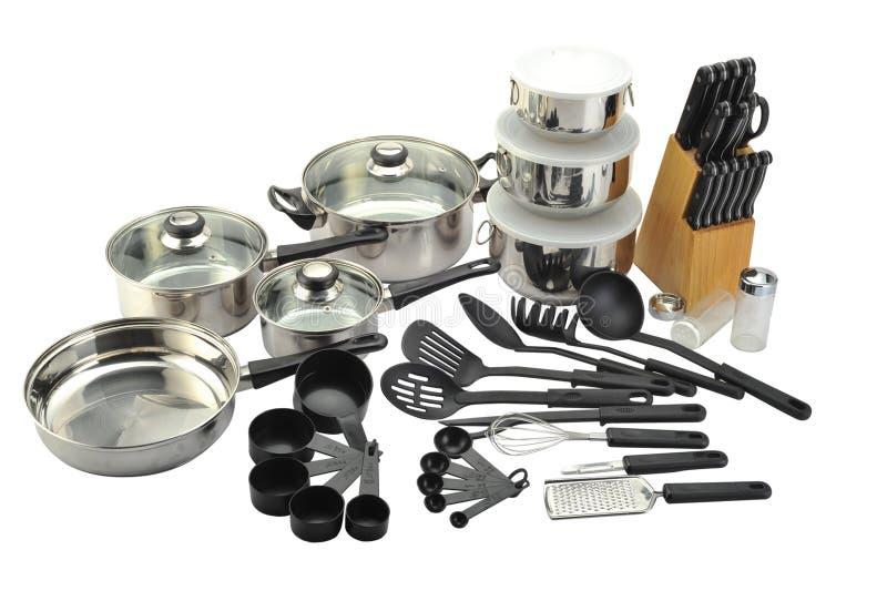 Vaisselle de cuisine image libre de droits