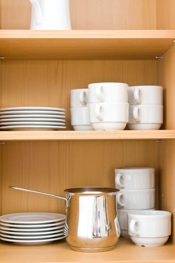 Vaisselle de cuisine images libres de droits