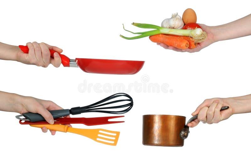 Vaisselle de cuisine image stock