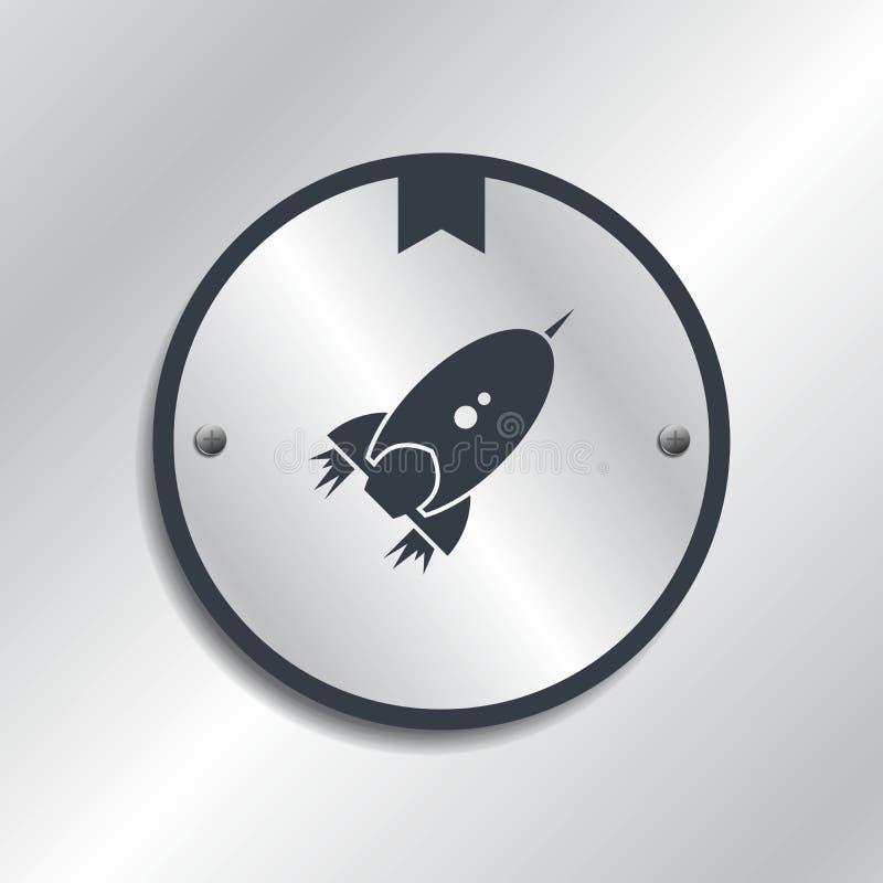 Vaivém espacial ilustração stock