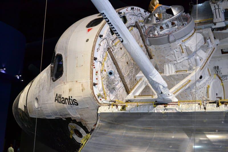 Vaivém espacial Atlantis imagem de stock