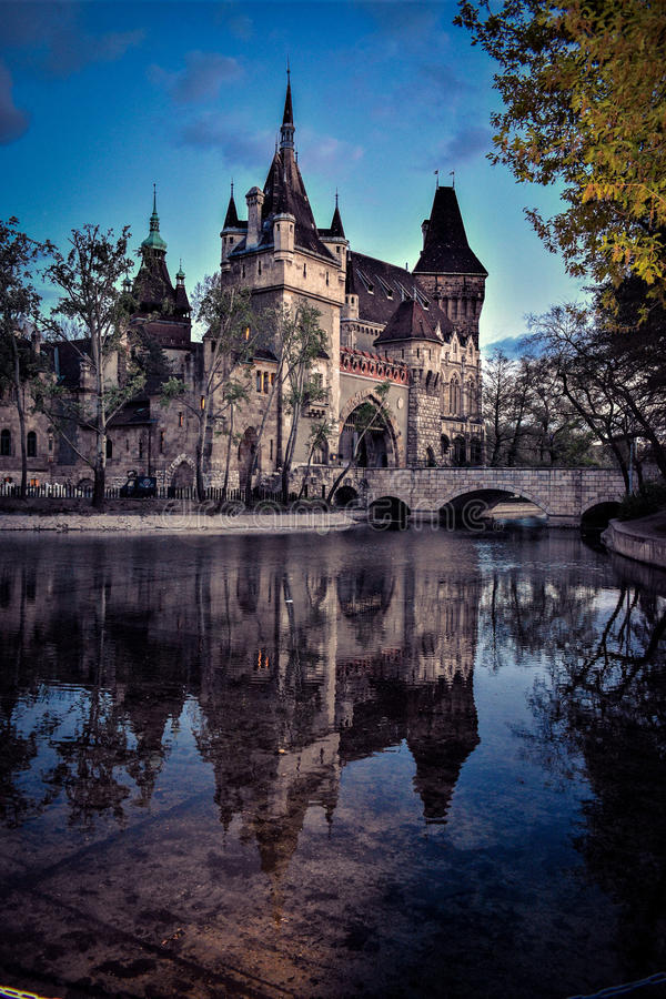 Vajda Hunyad城堡 库存照片