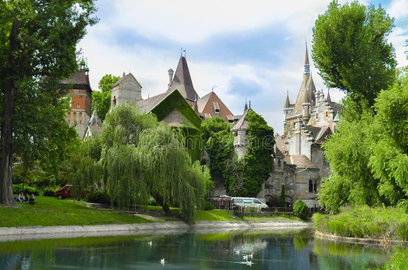 vajdahunyad замока budapest стоковое фото