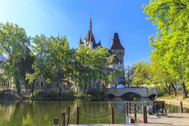vajdahunyad замока budapest стоковое фото rf