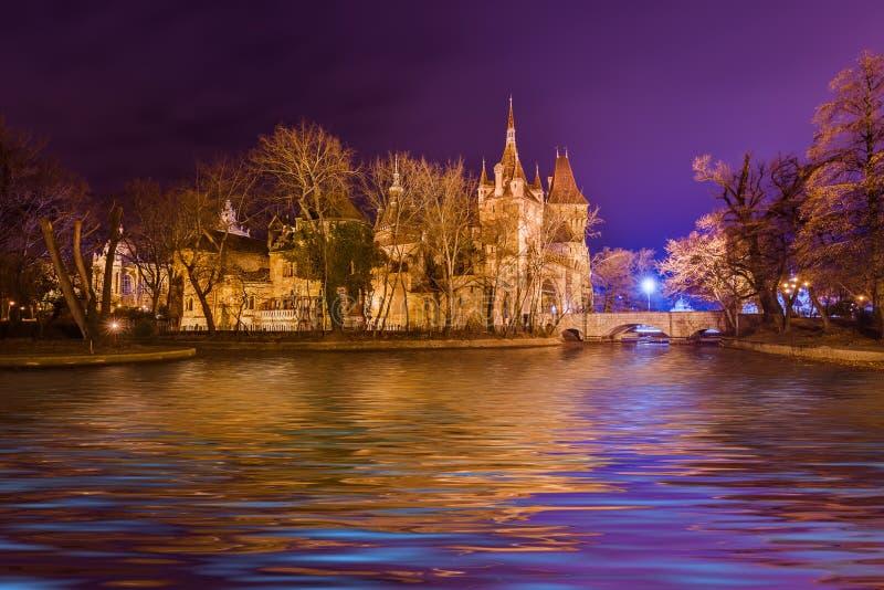 Vajdahunyad Castle στη Βουδαπέστη Ουγγαρία στοκ φωτογραφίες με δικαίωμα ελεύθερης χρήσης