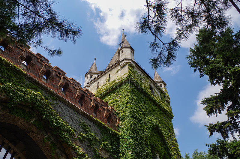 Vajdahunyad Castle. The biggest agricultural museum in Europe royalty free stock photo