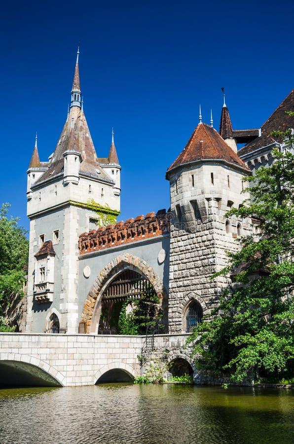 Vajdahunyad Castle in Budapest royalty free stock photos