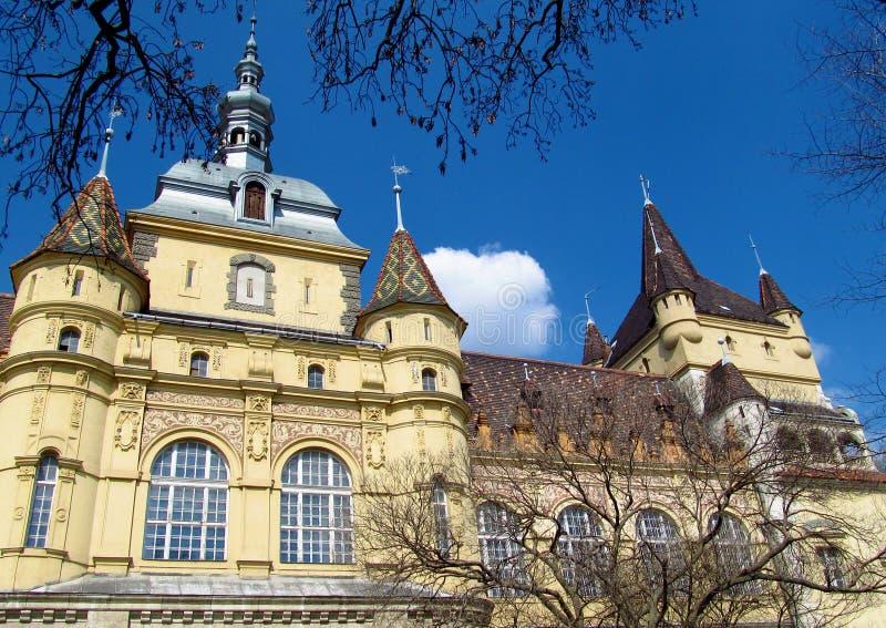 Vajdahunyad Castle in Budapest, Hungary royalty free stock photography