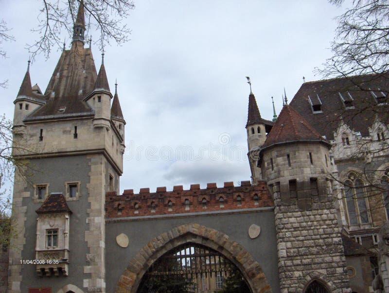 Vajdahunyad Castle royalty free stock photography