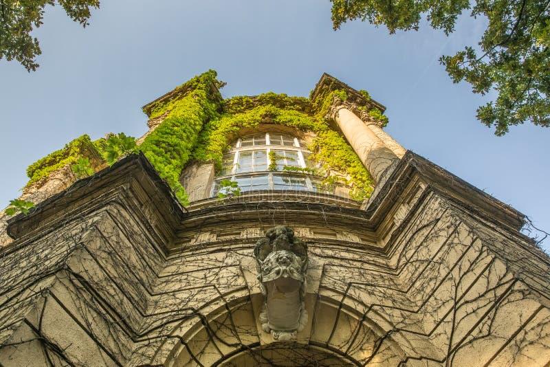 Vajdahunyad-Schloss im Varosliget-Park, Budapest, Ungarn lizenzfreies stockfoto