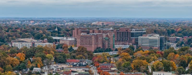 Vak Forest Baptist Medical Center royaltyfria bilder