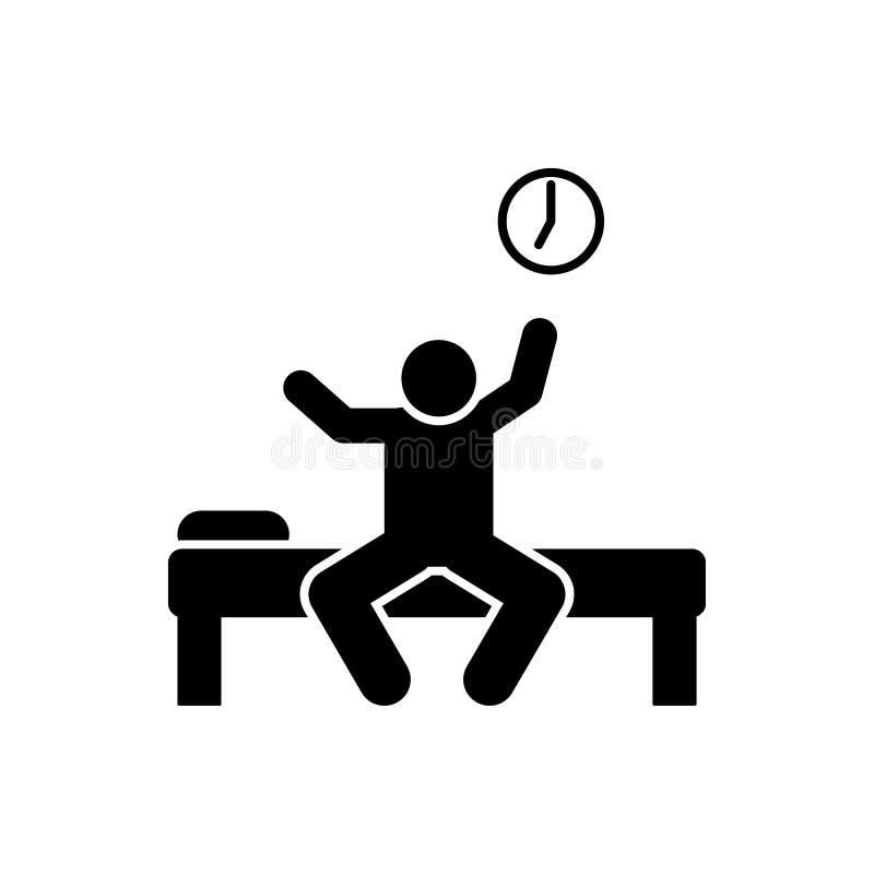Vak upp, studentsymbol Best?ndsdel av utbildningspictogramsymbolen H?gv?rdig kvalitets- symbol f?r grafisk design Tecken och symb stock illustrationer