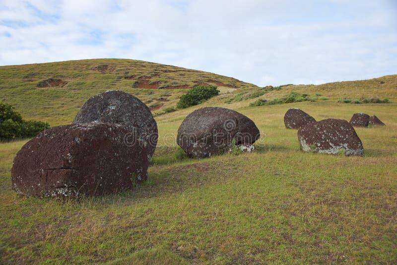 Vaka Kipo, Easter Island, Chile royalty free stock photos