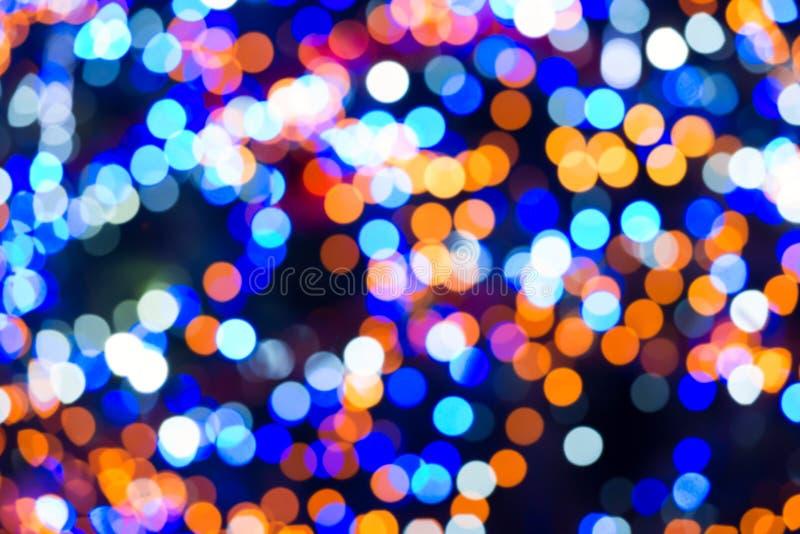 Vakantie abstracte lichten royalty-vrije stock foto