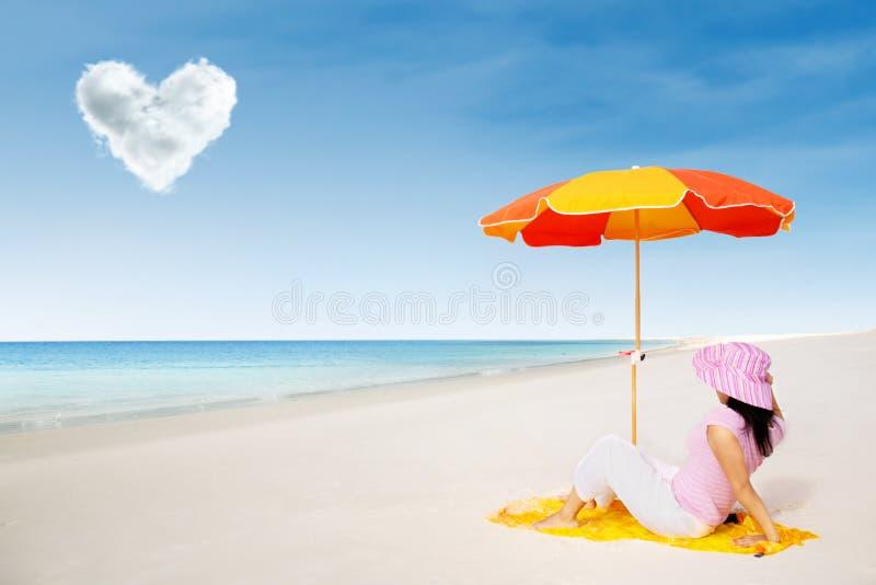 Vakantie bij Pinkstereneiland royalty-vrije stock fotografie