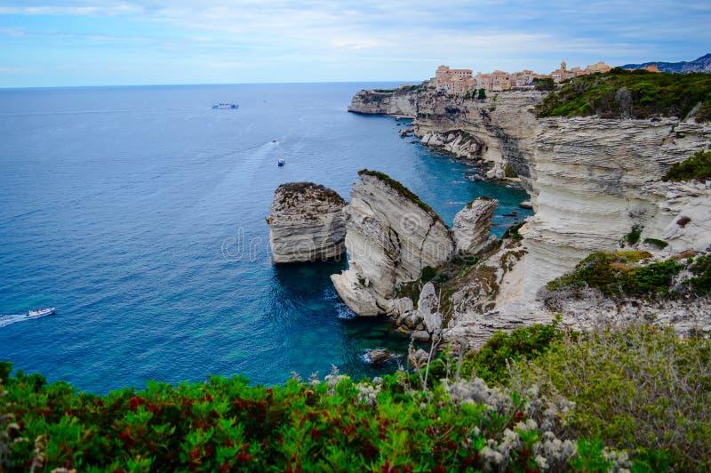Vakantie in Corse stock fotografie