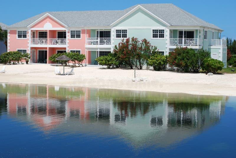 Vakantie in de Bahamas stock afbeelding