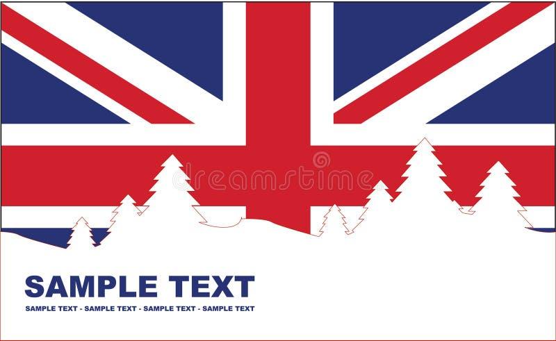 Vakantie Engeland vector illustratie