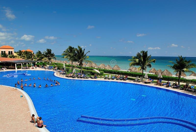 vakantie in Mexico stock fotografie