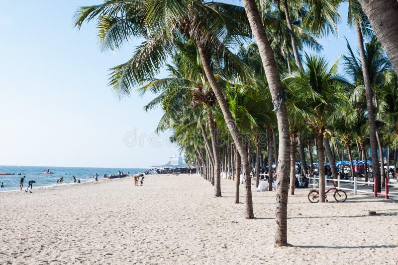 Vakantie op het Strand stock foto