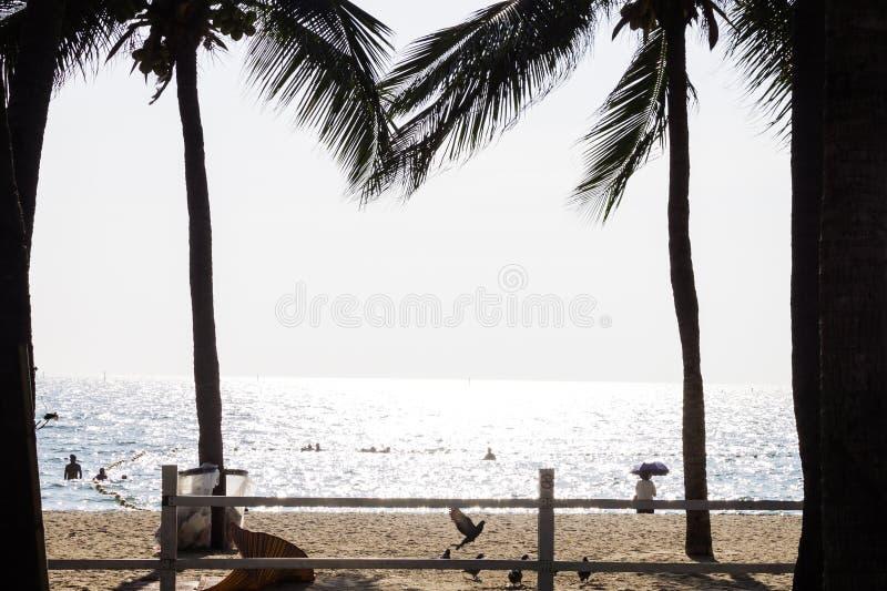 Vakantie op het strand, zonneschijndag royalty-vrije stock foto's
