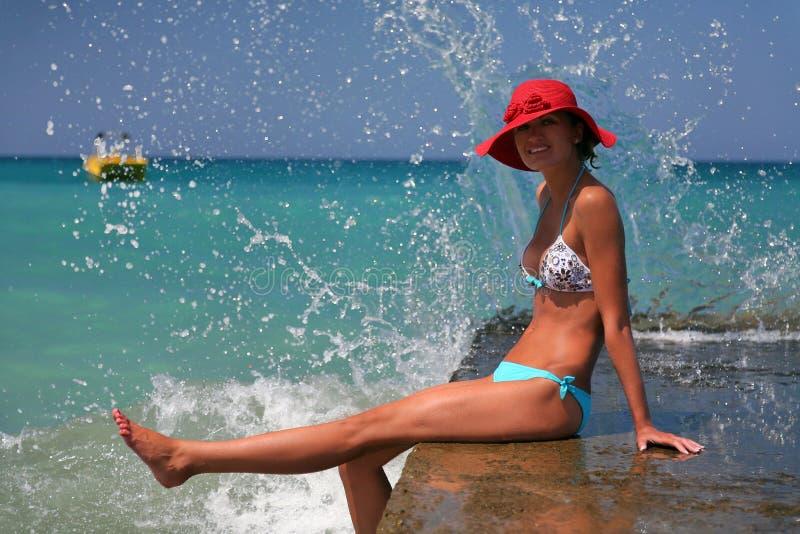 Vakantie op Kreta stock afbeeldingen
