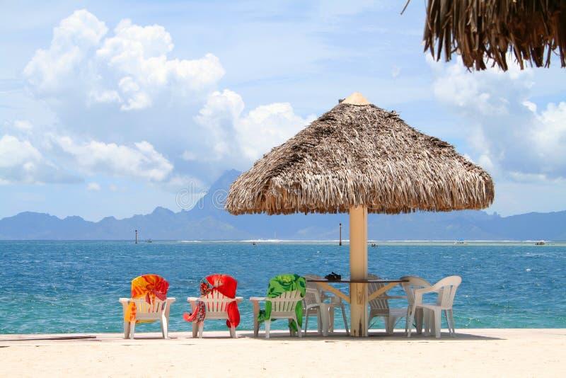 Vakantie in paradijs royalty-vrije stock afbeelding