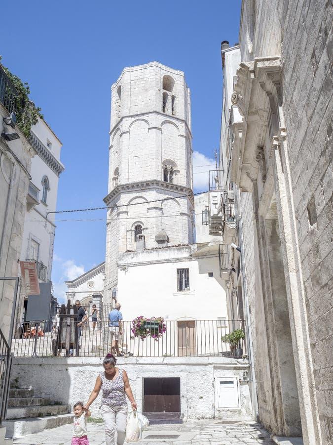 Vakantie in Puglia Italië stock foto's