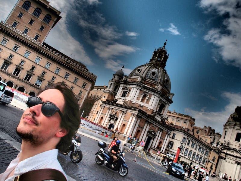 Vakantie in Rome stock afbeelding