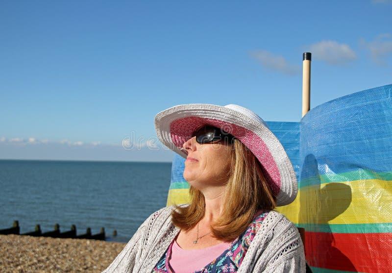 Vakantie sunseeker royalty-vrije stock fotografie