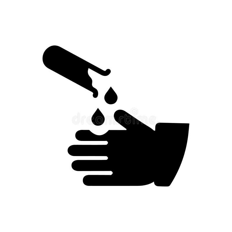 Vaken symbol för kemikalie royaltyfri illustrationer