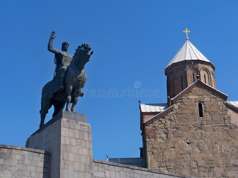 Vakhtang I Gorgasali royaltyfri fotografi