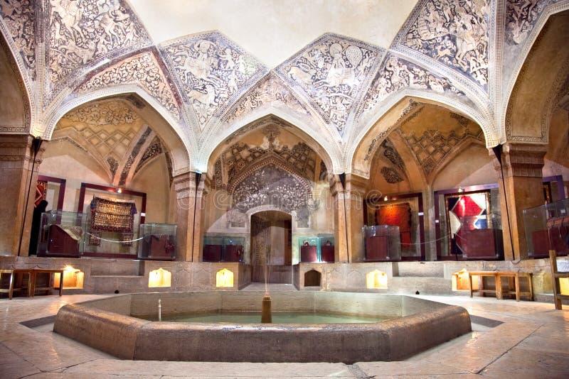 Vakil historiskt bad, Shiraz, Iran royaltyfria bilder