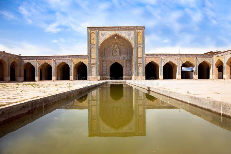 Vakil Moschee, Shiraz, der Iran stockfotos