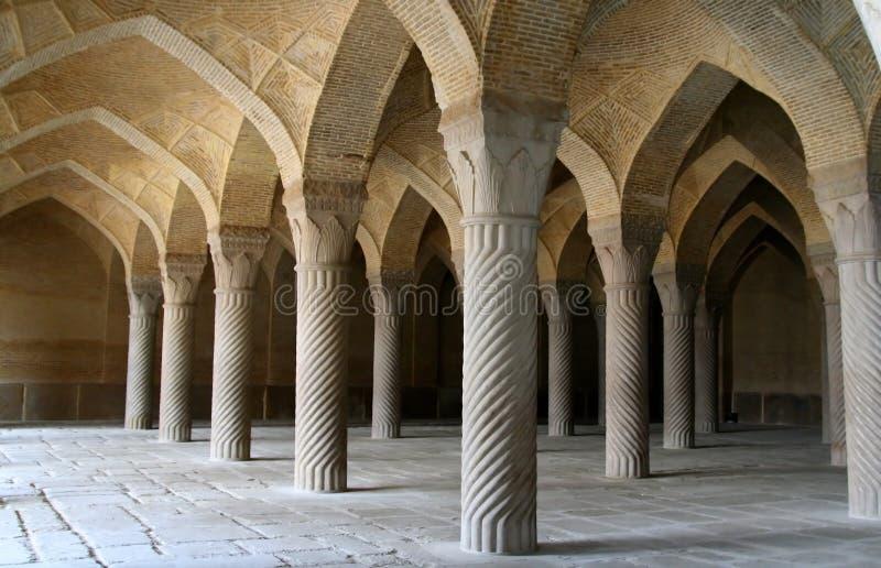 Vakil Moschee, Shiraz, der Iran stockfotografie
