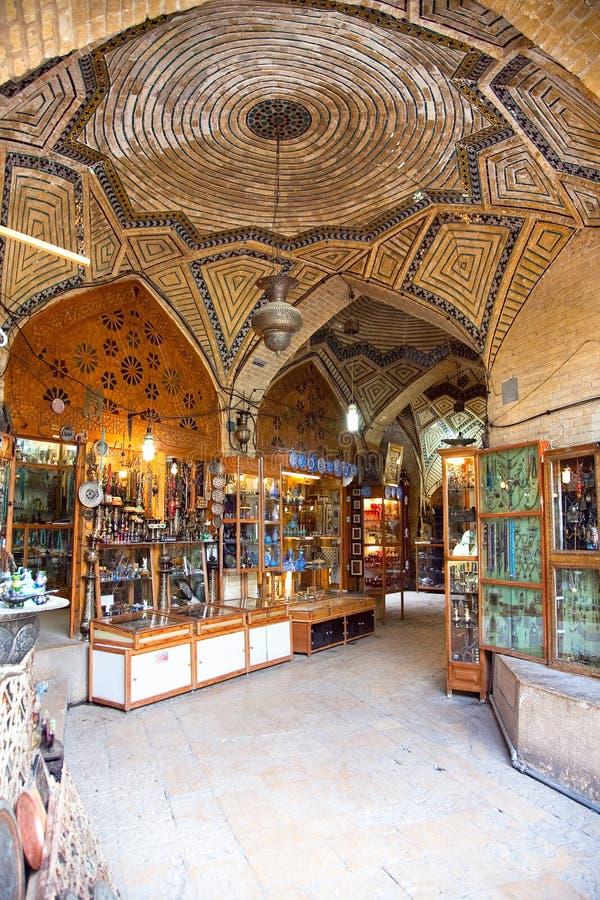 Vakili Basar-D ältestes Einkaufszentrum in Shiraz lizenzfreie stockfotografie