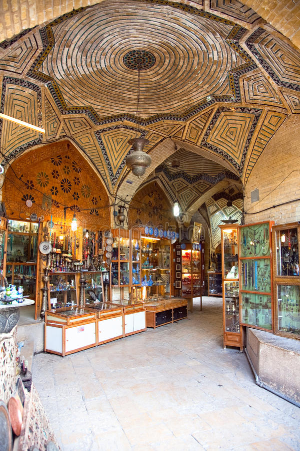 Download Vakili Bazaar-The Oldest Shopping Mall In Shiraz Stock Image - Image of ceramics, shop: 25620687