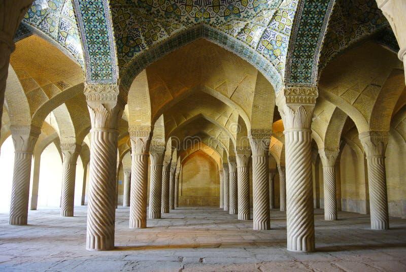 Vakilmoskee in Shiraz, Iran stock foto