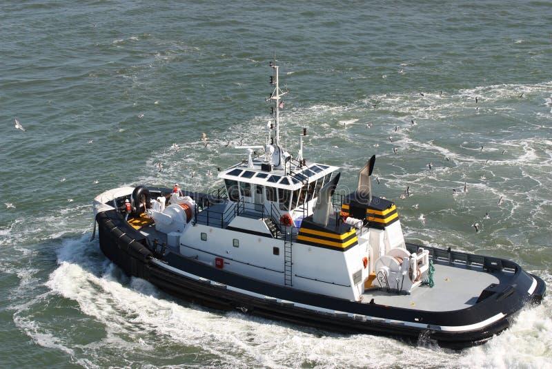 Vakt Boat arkivbilder