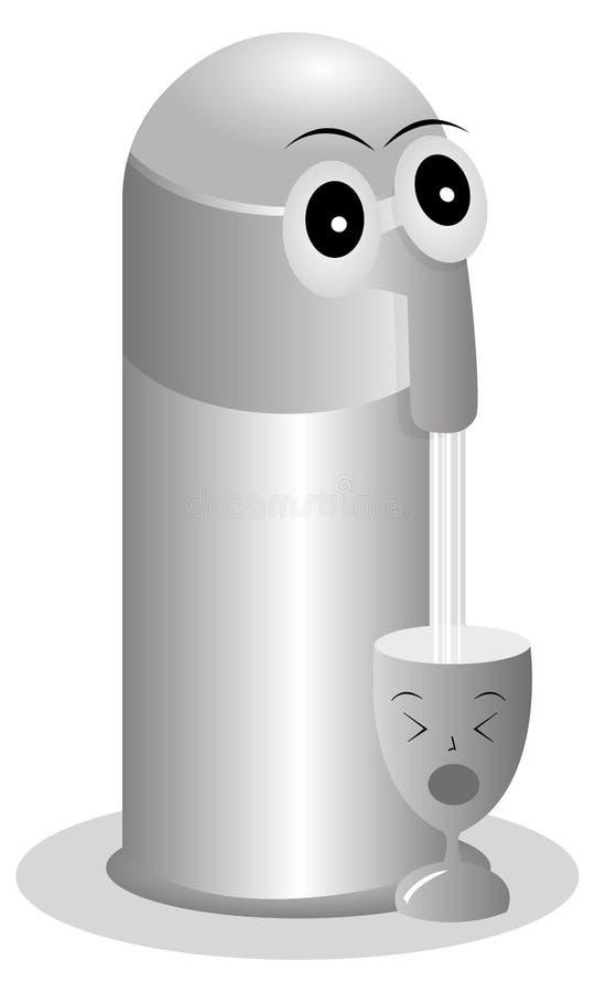 Vakuumflaska royaltyfria foton