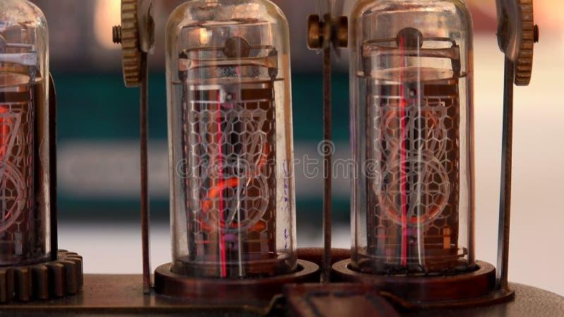 Vakuumröhre, Zahlen 4K stock footage