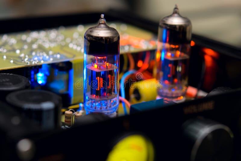 Vakuumrör fotografering för bildbyråer