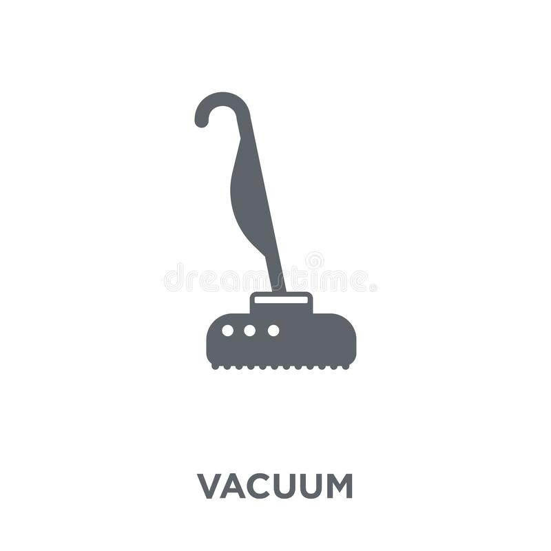 Vakuumsymbol från samling stock illustrationer