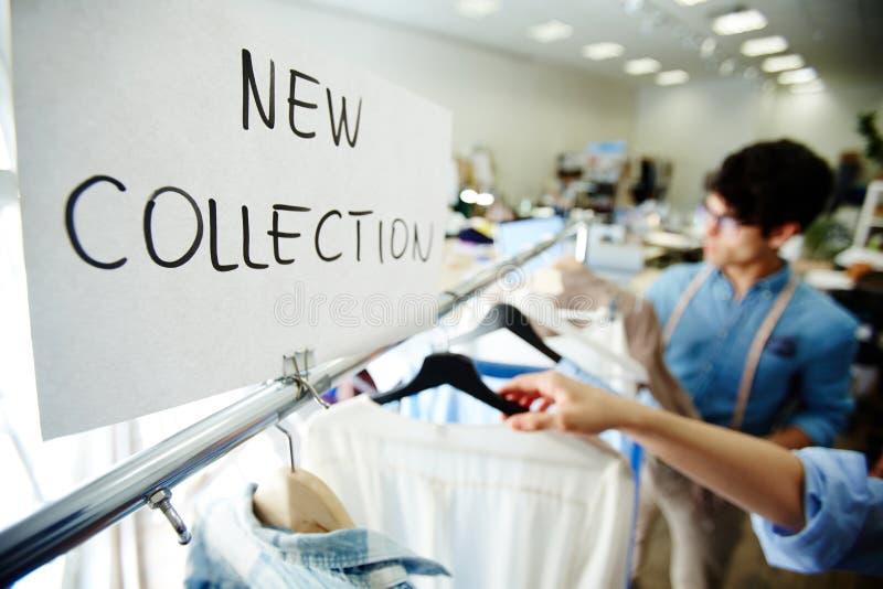 Val av kläder royaltyfri fotografi