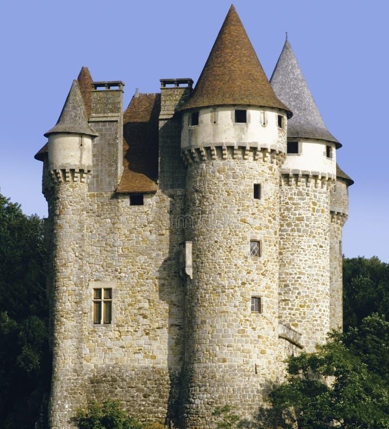 val chateau de arkivfoton