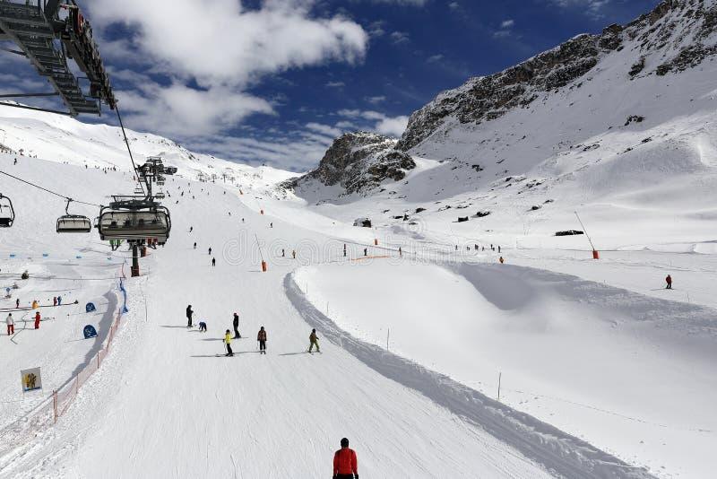 Val Claret Winter Ski Resort Of TignesVal D Isere France