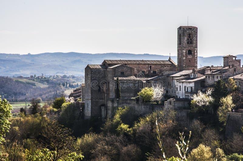 Val d'elsa för Colle di royaltyfri foto