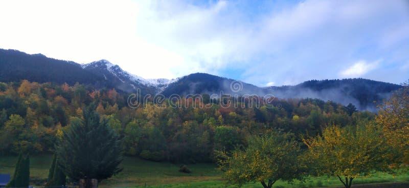 Val de Aran spanje stock foto