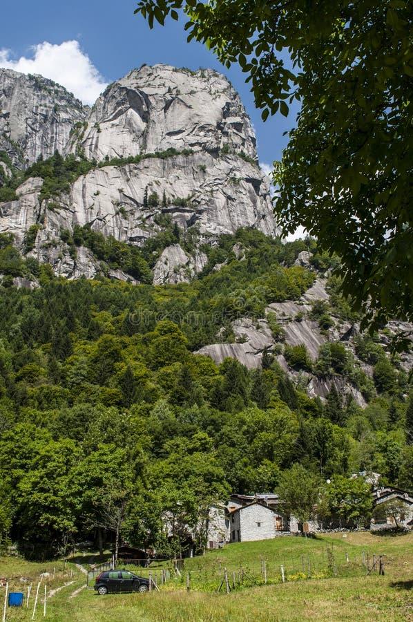 Val di Mello, Val Masino, Valtellina, Sondrio, Italy, Europe stock photo