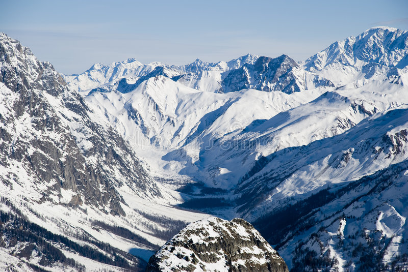 Download Val ferret courmayeur stock photo. Image of travel, italy - 4129974